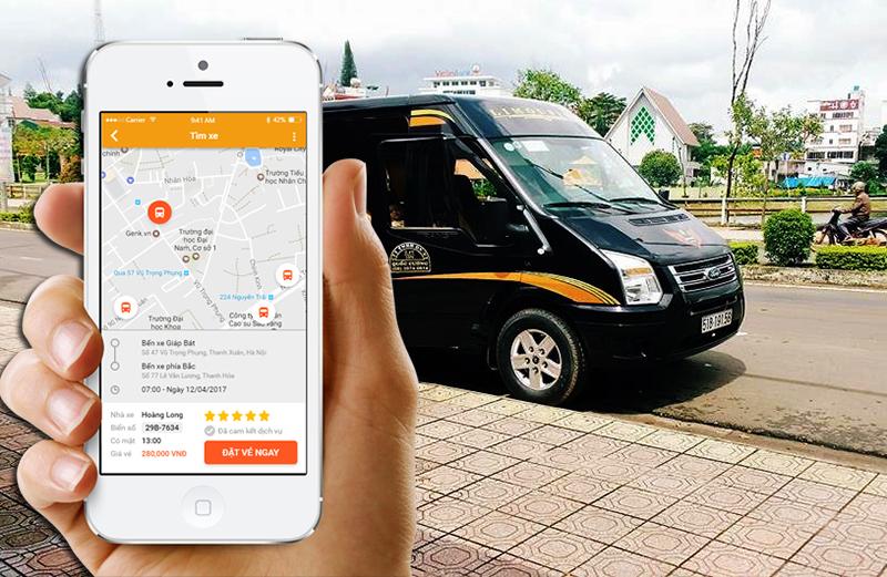phần mềm bán vé xe Limousin của ANVUI